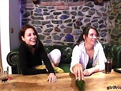 Carrie & Charlotta & Honey & Lexi Dona in In The Cabin Part 1 - Girlfriends