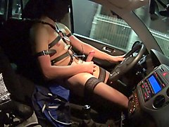 wanking nude in car caught parking dogging