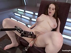 Full bodied Girl, Full bodied Fucked by Machines
