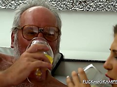 babe valery lets grandpa enjoy