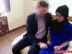 Dicksucking arab amateur beauty pounded hard