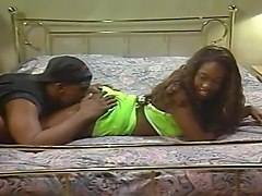 All Ebony Orgy Features Tons of Huge Cocks and Chocolate Twats
