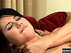 lucy bell is a hot brunette that loves anal. in this...