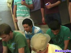 college student humiliated in dorm hazing