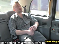 Naughjty fem cabbie pussydrilled by lucky guy