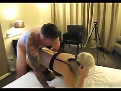Very Cute Blonde Wife with Stranger 1