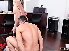 sexy hunk rides and sucks two giant cum guns
