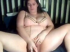 chubby emotional web cam whore with big boobies masturbated for me