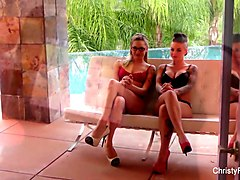behind the scenes with christy mack and dahlia sky
