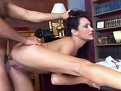 Fabulous pornstar Michelle Lay in incredible brunette, small tits xxx video