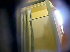 hidden cam catches sexy flatmate naked in the bathroom
