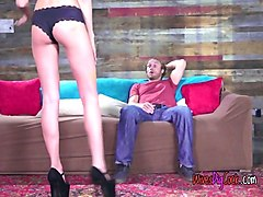 cheating wife ariana marie blows husbands buddy