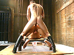 Mr Wilde trains a new slave boy and fucks him into submission