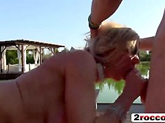 housewarming party turns into fucking blonde milfs gangbang