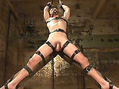 A Bound Gods member gets tied up, abused and fucked till he begs for mercy.
