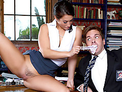 Eva Lovia & Ryan Ryder in The Headmistress - DigitalPlayground