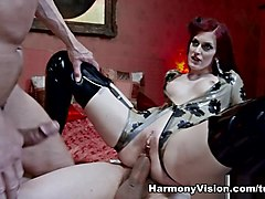 Mira in Redhead Nympho Desire - HarmonyVision