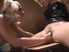 Blond Babysitter Fucks Husband And Wife
