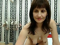 sexy mature bitch shows me her saggy boobs and her nipples