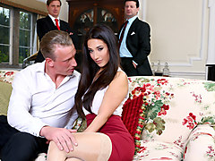 Eva Lovia & Luke Hardy in The Fixer - DigitalPlayground