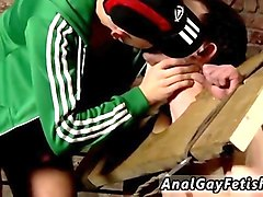 gay slave gets tortured by his dungeon master