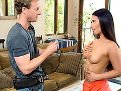 Eva Lovia & Ryan McLane in Sorority Sisters, Scene 1 - DigitalPlayground
