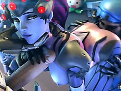 overwatch sfm adult collection- la bouche