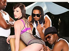 Jennifer White & Dsnoop in GangLand Super Gang Bang #04, Scene #03