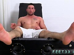chubby gay legs up casey more jerked  tickled