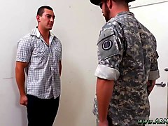 army boy gets humiliated by his gay drill sergeant
