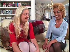 Sammie & Holly - Older Women & Younger Women #04, Scene #2
