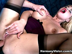 Cathy Heaven in Hard Anal Slamming - HarmonyVision