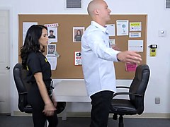 another shagging session at the office with the horny megan rain