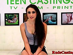 brutal casting for assfucked teen babe