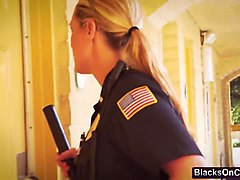 Bisexual cops threesome interracial