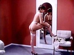 erica boyer john leslie rachel ashley in vintage porn scene