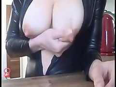 Lactating wife teasing