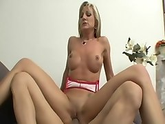 Fabulous pornstar Val Malone in incredible facial, milfs porn movie