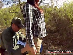 amateur asian interracial blowjob oficer of patrol agrees to help redhaired babe to cross