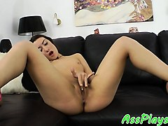 glam babe anally pounded after assplay