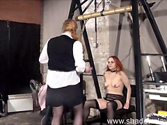 dirty mary lesbian pussy whipping and amateur bdsm of play piercing