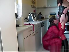 mature Biggi fuck in the Kitchen