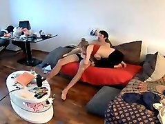 Elisa georgeus sex in living room