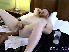 fat ginger twink gets his sorry ass fist fucked deep