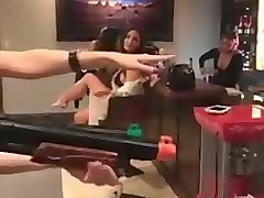 Girls flash tits on Dan Bilzerian Facebook Live
