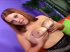 Busty babe handjob and titjob CUM BOOBS