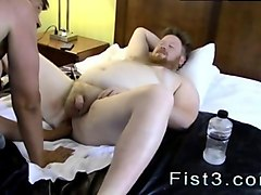 fat twink loves having his asshole fisted hard and eep