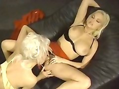 Hottest pornstars Stacy Valentine and Helen Duval in fabulous blonde, dildos/toys xxx clip