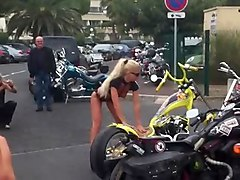 bikerslut at cap d'agde france 2011