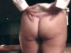 Homemade Anal : Enthousiastic Booty Milf gets ass fucked